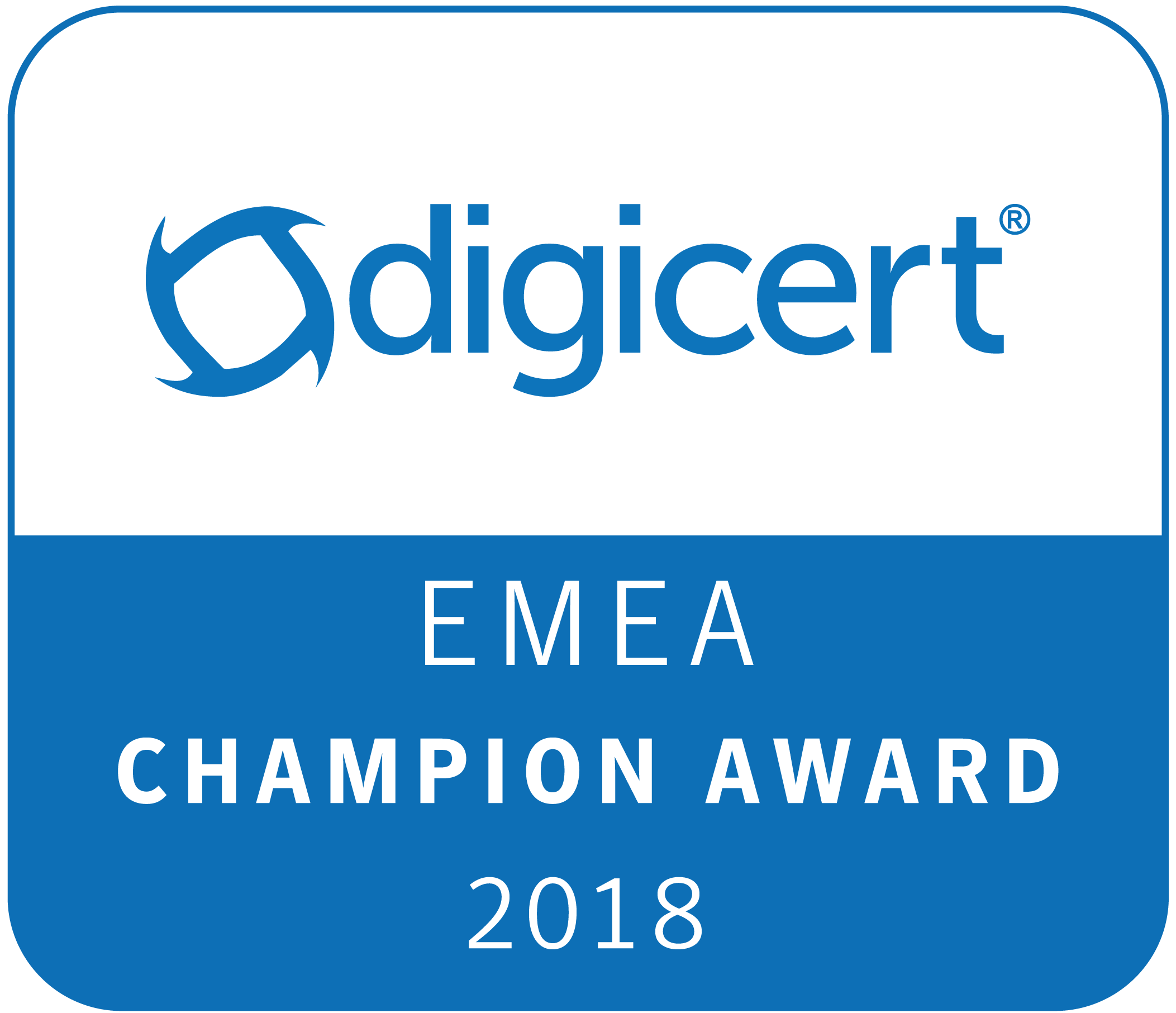SSL247® - DigiCert EMEA Champion Award 2018