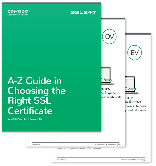 A-Z Guide to SSL Certificates