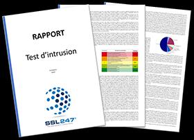 Rapport test d'intrusion